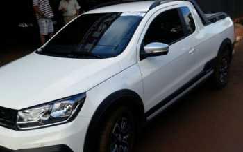 Volkswagen Saveiro 2017 CROSS 1.6 CAB ESTENDIDA FLEX 2P Manual Branco