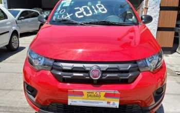Fiat Mobi 2018 1.0 Easy 4P Manual Vermelha