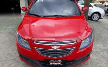 Chevrolet Prisma 2014 1.4 LTZ 4P Manual Vermelha