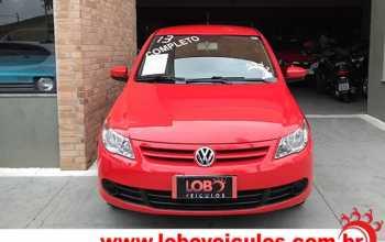 Volkswagen Gol 2013 Novo G5 1.0 Trend 4P Manual Vermelha