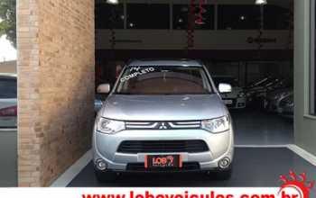 Mitsubishi Outlander 2014 2.0 AT 4P Automático Prata