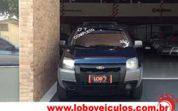 Ford Ecosport 2007 XLT 1.6 FreeStyle 4P Manual Azul