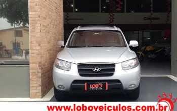 Hyundai Santa Fe 2010 GLS 2.7 Lugares 4P Automático Prata