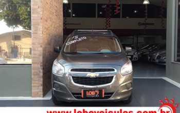 Chevrolet Spin 2015 LT 1.8 AT 4P Automático Cinza