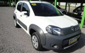 Fiat Uno 2012 way 1.0 4P Manual Branco
