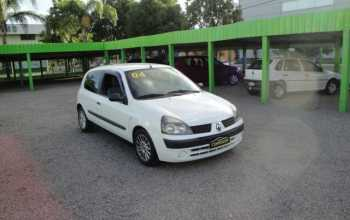 Renault Clio Hatch 2004 AUTENTIC 1.0 2P Manual Branco