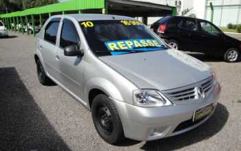 Renault Logan 2010 Autentic 4P Manual Prata