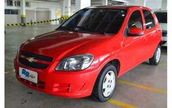 Chevrolet Celta 2012 1.0 4P Manual Vermelha