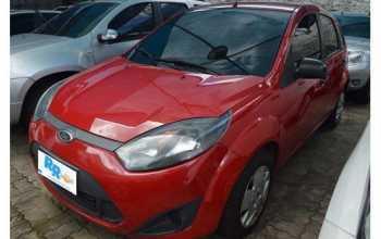 Ford Fiesta 2013 FLEX 1.0 4P Manual Vermelha