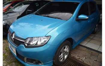 Renault Sandero 2015 DYNAMIQUE 4P Manual Azul
