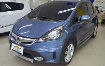 Honda Fit 2014 1.5 TWIST 4P Automático Azul