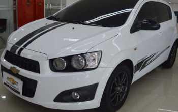 Chevrolet Sonic 2014 1.6 MH LTZ EF 4P Automático Branco