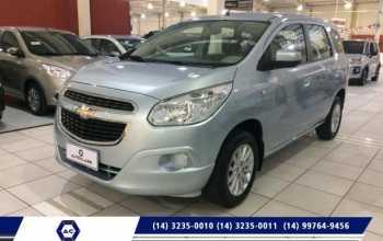 Chevrolet Spin 2014 1.8 4P LT ECONOFLEX Automático Prata