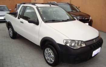 Fiat Strada 2009 2P Manual Branco