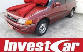 Ford Escort 1994 1.6 L 8V áLCOOL 2P MANUAL Vermelha