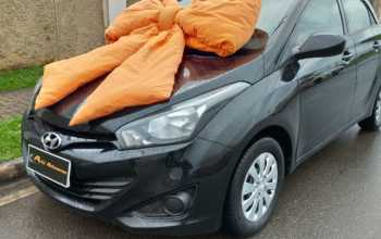 Hyundai HB 20 2013 1.6 COMFORT 16V FLEX 4P MANUAL Preto