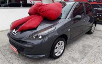 Peugeot 207 2009 1.4 XR 8V FLEX 4P MANUAL Cinza