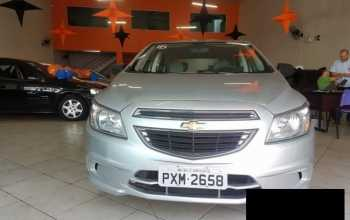 Chevrolet Onix 2016 1.0 2P Manual Prata
