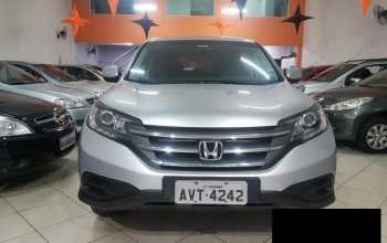 Honda HR-V 2013 4P Automático Prata