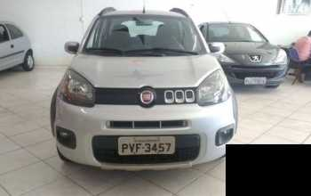 Fiat Uno 2015 WAY EVO 1.4 4P Manual Prata