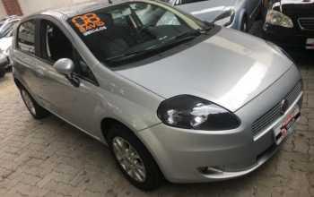 Fiat Punto 2008 ELX 1.4 4P Manual Prata