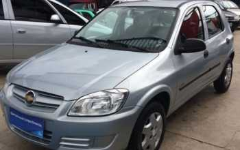 Chevrolet Celta 2008 1.0 life 4P Manual Prata