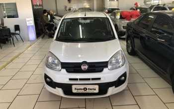 Fiat Uno 2017 Attractive 1.0 Firefly Flex 4P Manual Branco