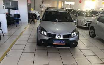 Renault Sandero 2011 Stepway 1.6 16V Flex 4P Manual Prata
